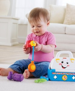 Fisher price lekarsky kufrik b