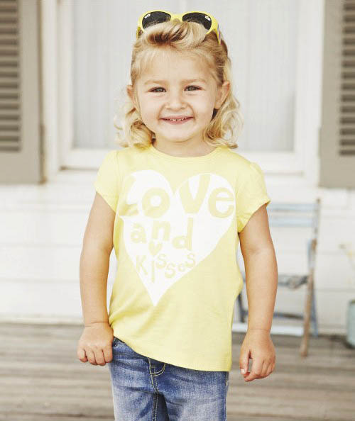 Mothercare tricko love and kisses a