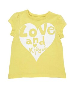 Mothercare tricko love and kisses b