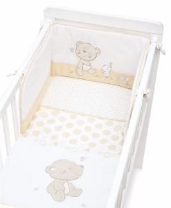 Mothercare set do postylky s mantinelem medvidek & kamaradi a