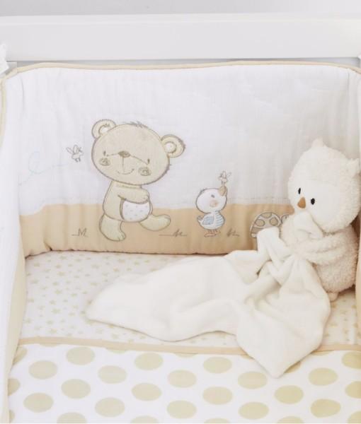Mothercare set do postylky s mantinelem medvidek & kamaradi f