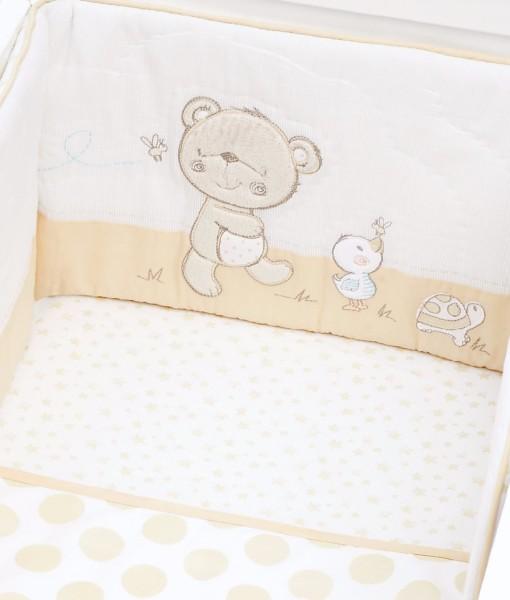 Mothercare set do postylky s mantinelem medvidek & kamaradi g