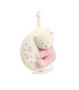 Keel Toys hudebni mesicek s ruzovym medvidkem