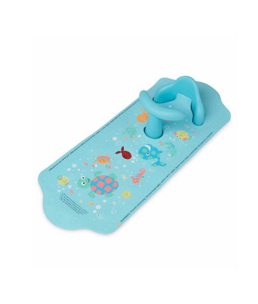 Mothercare protiskluzova podlozka do vany se sedatkem (modra) a