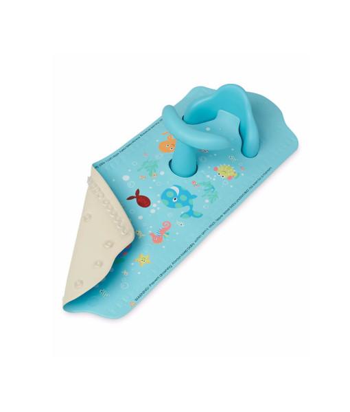 Mothercare protiskluzova podlozka do vany se sedatkem (modra) c