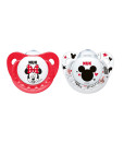 NUK dudlik Disney Minnie, V1 (0 - 6 mesicu), 2 ks a