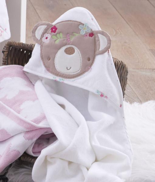 Silvercloud osuska s kapuci medvidek Sweet Dreams b