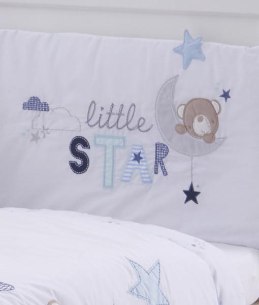 Silvercloud set do postylky s mantinelem medvidek Little Star d