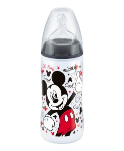 NUK First Choice+ lahev Disney Mickey, 300 ml a