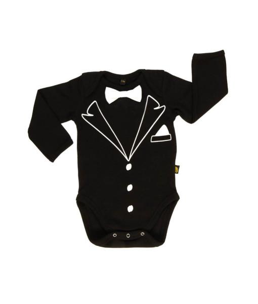 Rockabye Baby body Tuxedo (3 - 6 mesicu) a