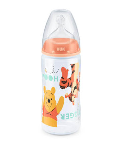 NUK First Choice+ lahev Disney Medvidek Pu, 300 ml a