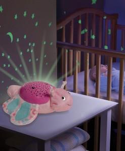 Summer Infant plysovy motylek s projektorem se zvuky b