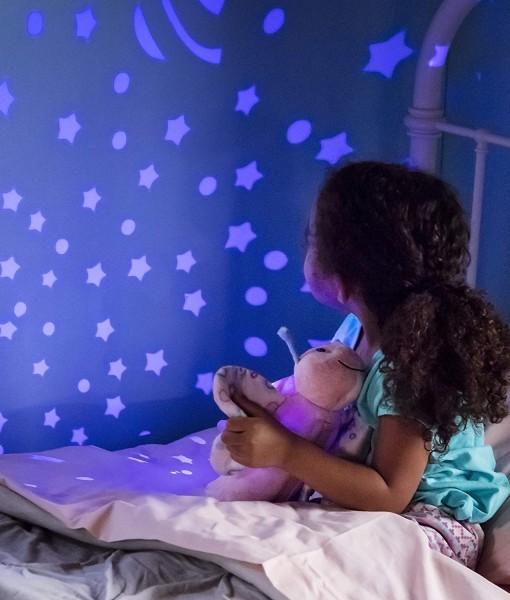 Summer Infant plysovy motylek s projektorem se zvuky d