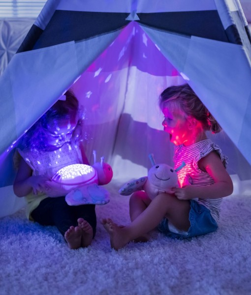 Summer Infant plysovy motylek s projektorem se zvuky e