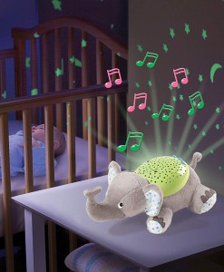 Summer Infant plysovy slon s projektorem se zvuky b