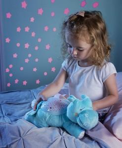 Summer Infant plysový hrosik s projektorem se zvuky b