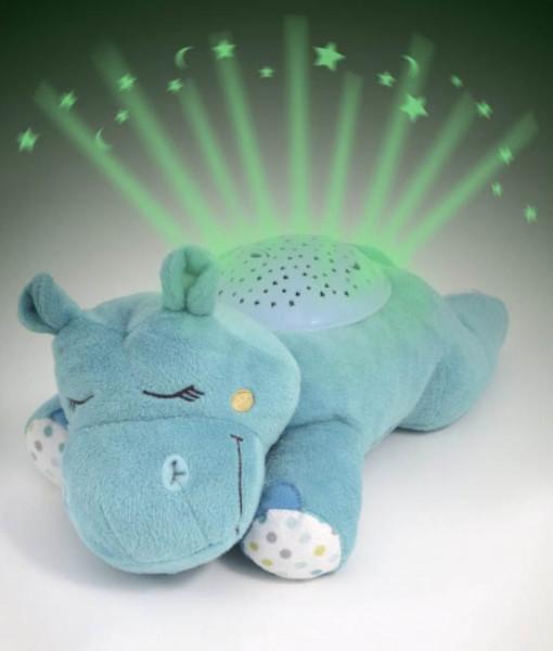 Summer Infant plysový hrosik s projektorem se zvuky i