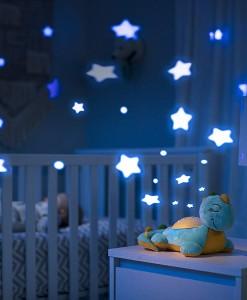 Summer Infant plysovy dinosaurus s projektorem se zvuky Deluxe b
