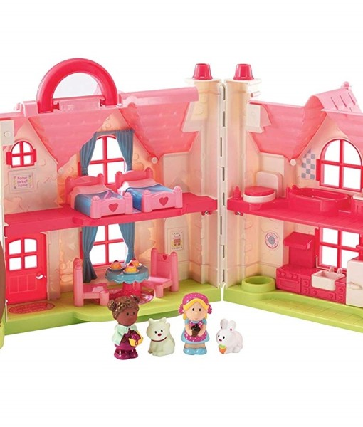 Early Learning Centre ruzova chaloupka se stromem Happyland b