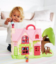 Early Learning Centre ruzova chaloupka se stromem Happyland g