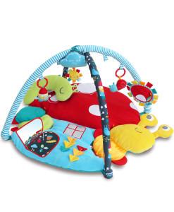 Little Bird Told Me hraci deka s aktivitami s hudebnim slunickem a