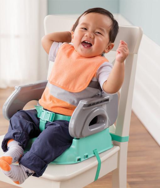 Summer Infant prenosne jidelni sedatko nastavec na zidli Deluxe Comfort e