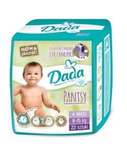 Dada plenky Pantsy 4 MAXI (8 - 15 kg, 22 ks) a
