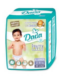 Dada plenky Pantsy 5 JUNIOR (12 - 18 kg, 20 ks) a