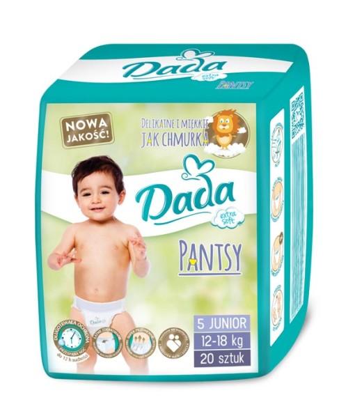 Dada plenky Pantsy 5 JUNIOR (12 - 18 kg, 20 ks) a