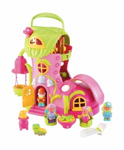 Early Learning Centre pohadkovy domecek Happyland s vilami a skritkem a