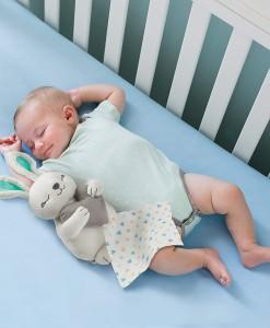 Summer Infant roztomily plysovy kralicek se srdecnim tepem a zvuky e