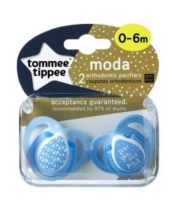 Tommee Tippee dudlik Moda Boy C2N (0 - 6 mesicu), 2 ks b