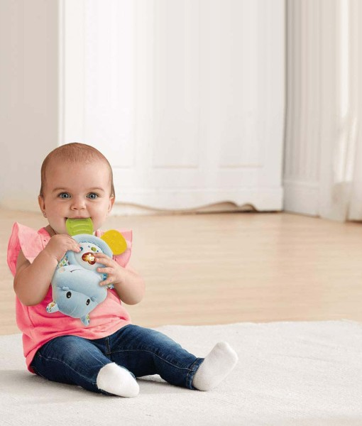 Vtech Baby multimedialni zabavne kousatko hrosik b