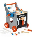 Janod dreveny vozik Brico Kids s magnetickym prislusenstvim a