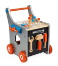 Janod dreveny vozik Brico Kids s magnetickym prislusenstvim e
