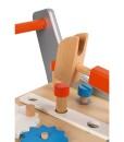 Janod dreveny vozik Brico Kids s magnetickym prislusenstvim g