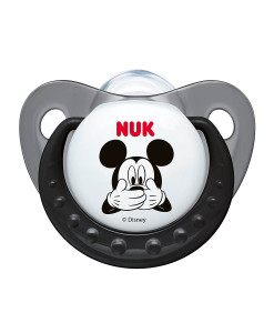 NUK dudlik Disney Mickey New, V1 (0 - 6 mesicu), 2 ks b