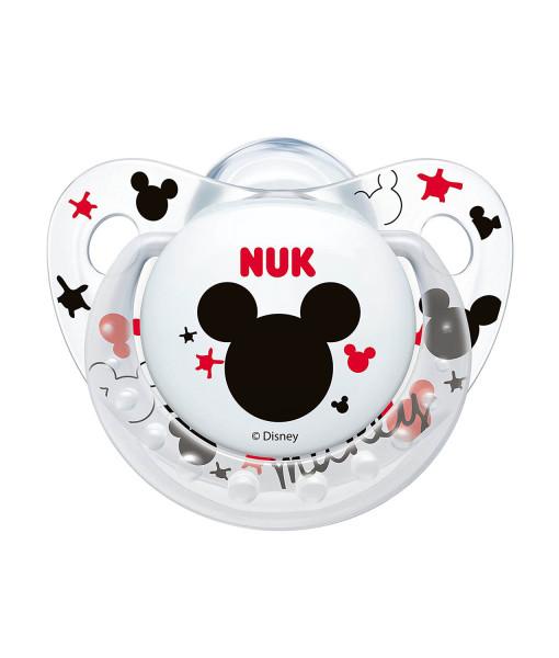 NUK dudlik Disney Mickey New, V1 (0 - 6 mesicu), 2 ks c