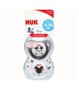 NUK dudlik Disney Mickey New, V2 (6 - 18 mesicu), 2 ks e