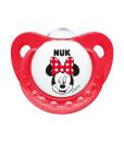 NUK dudlik Disney Minnie New, V1 (0 - 6 mesicu), 2 ks b
