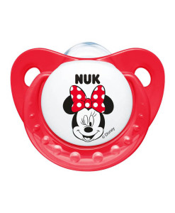 NUK dudlik Disney Minnie New, V1 (0 - 6 mesicu), 2 ks b