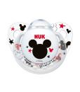 NUK dudlik Disney Minnie New, V1 (0 - 6 mesicu), 2 ks c