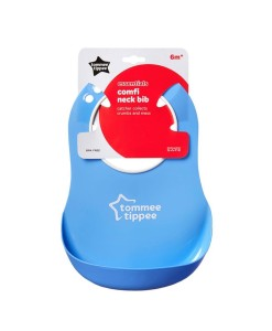 Tommee Tippee Essentials plastovy bryndak (modry) b