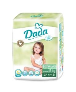 Dada plenky Extra Soft 6 EXTRA LARGE (nad 15 kg, 42 ks) a