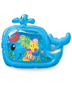 Infantino vodni podlozka velryba se zviratky a