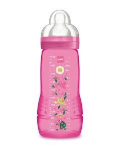 Mam lahev Easy Active, 4m+, 330 ml (ruzova) a