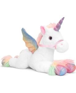 Keel Toys jednorozec Pegasus 70 cm (bily) a
