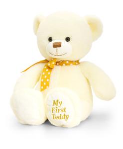 Keel Toys muj prvni medvidek (kremovy) a