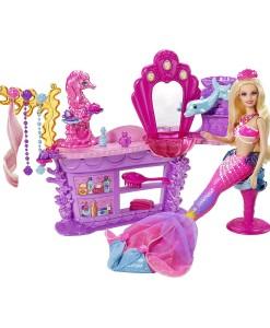 Mattel Barbie kadernicky salon a