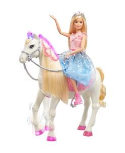 Mattel Barbie princezna a kun se svetly a zvuky